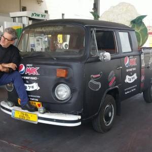 רכב ממותג לשיווק גרילה 036