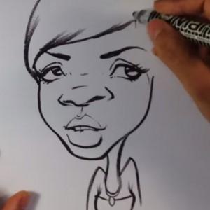ציור קריקטורות לאירועים 14